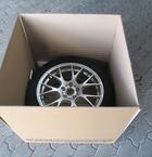 Eksklusiv indpakning af hjul(PAPKASSER)