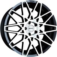 "ASA GT4 Black & Pol. 18"""