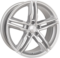 "Wheelworld Wh11 Full Silver 19"""