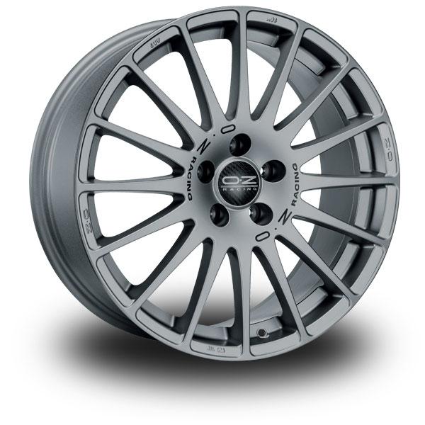"OZ Superturismo GT Corsa Grey 14"""