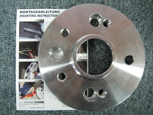 Adaptor fra 4x100 til 5x100 T=20 mm