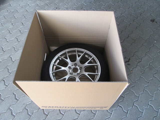 Eksklusiv indpakning af hjul